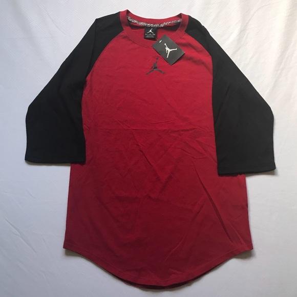 3d85ce20566396 Nike Air Jordan Jumpman Men s 3 4 Sleeve Shirt